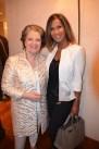 Gastgeberin und Glücks-Botschafterin: Hannelore Lay _und Marie Amière