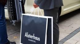 Auch Männer machen Shopping