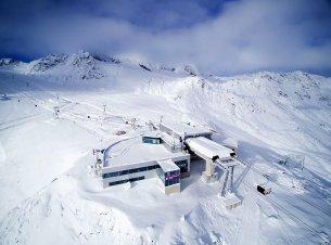 Stubaier Gletscher 3s Bergstation
