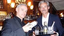 Triple Taste Gin-Menü in der Bar 1910