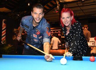 Man's World 2017Dennis Diekmeier (HSV) mit Ehefrau Dana (c) MW