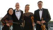 Vier Musiker vom Alsterquartett
