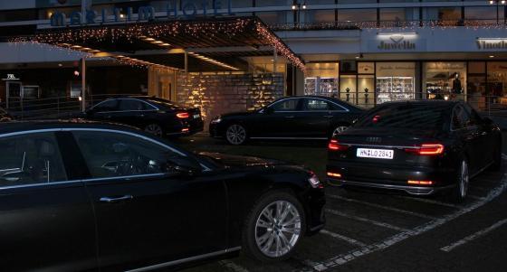 Audi Shuttle Flotte