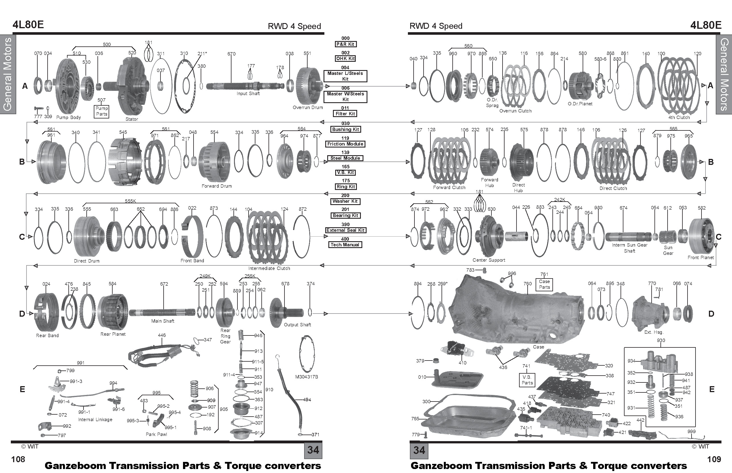 Th350 Transmission Schematic