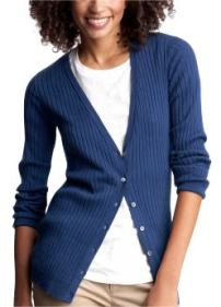 Slim Women's tall cardigans - pangea blue
