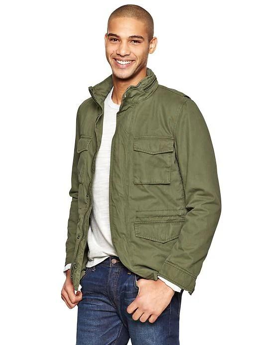 Green Fatigue Jacket Xu1s8Y