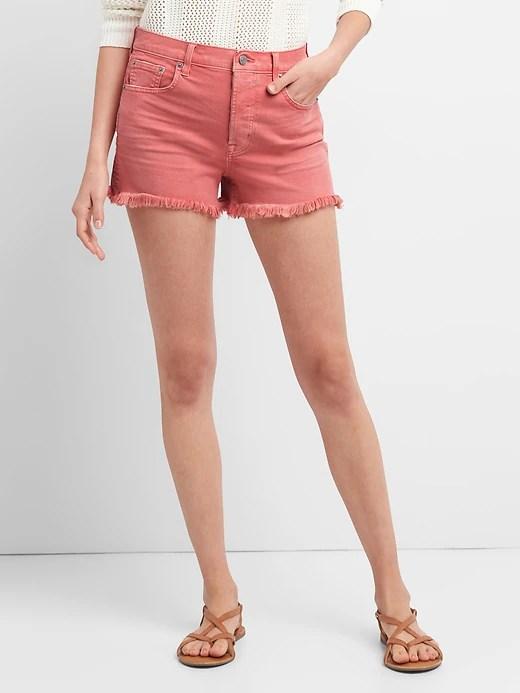 gap-colored-denim-shorts