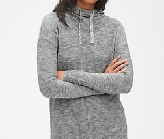 Hooded Pullover Sweater Tunic