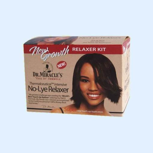 Dr. Miracle's No Lye Relaxer Kit Super