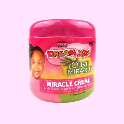 African Pride Dream Kids Olive Miracle Miracle Cream 170g