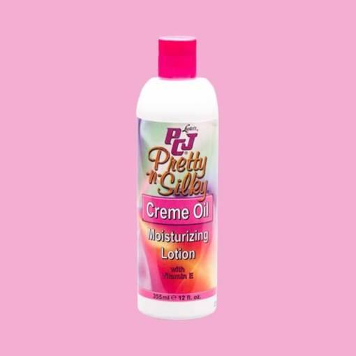 PCJ Pretty n Silky Cream Oil Moisturizing Lotion 355ml