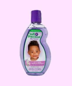 Soft and Precious 2 N 1 Baby Bath and Shampoo 300ml