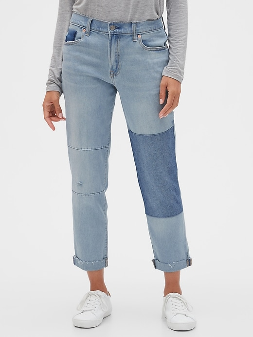 Patch Girlfriend Jeans