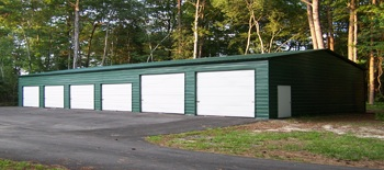 Metal Garages - Engineered
