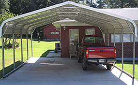 Carports Metal Carports Portable Steel Car Ports