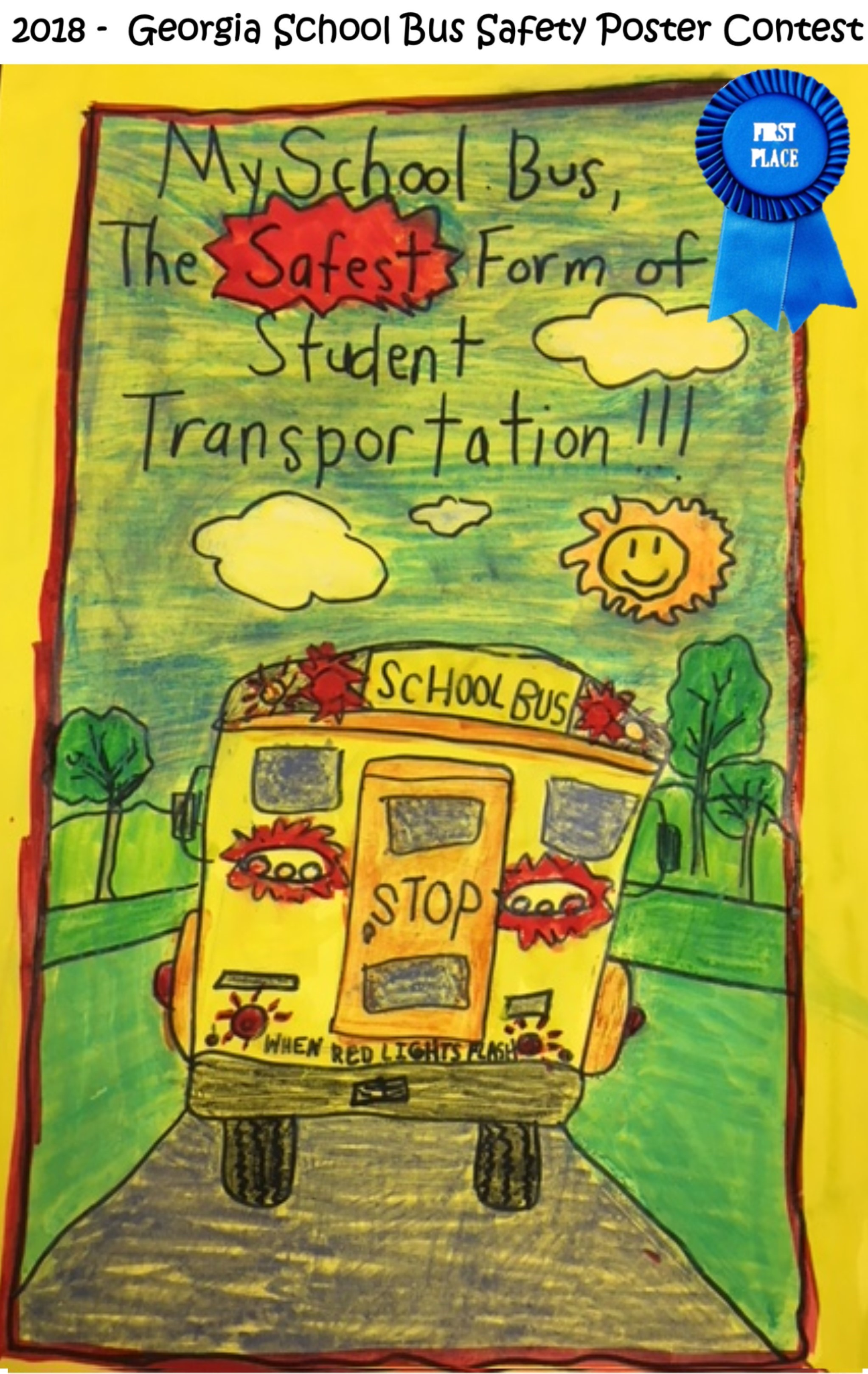 School Bus Safety Poster Contest Winners 2