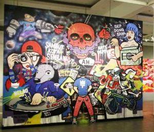 Pameran Visual Jalanan berjudul 'Bebas Tapi  Sopan' (ist)