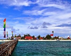 Ilustrasi Foto Pantai Pulau Takabonerate (ist)