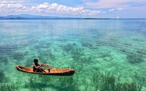 Foto ilustrasi: Pantai Morotai. (ist)