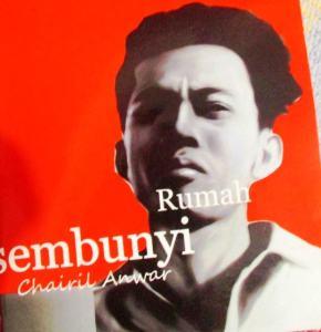 Foto: Buku Rumah Sembunyi Chairil Anwar. (ist)