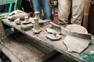 foto: Benda yang terdapat dalam Situs Buni di Bekasi. (ist)