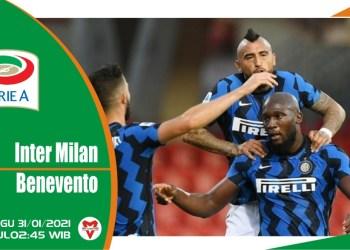 Prediksi Pertandingan Inter Milan vs Benevento