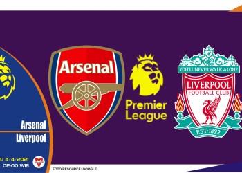 Prediksi Liga Inggris: Arsenal vs Liverpool - 4 April 2021