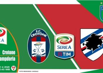 Prediksi Liga Italia: Crotone vs Sampdoria - 22 April 2021