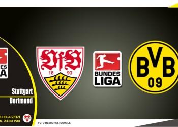 Prediksi Liga Jerman: Stuttgart vs Borussia Dortmund - 10 April 2021