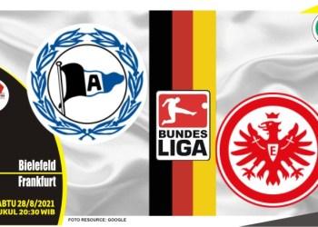 Prediksi Bielefeld vs Frankfurt - Liga Jerman 28 Agustus 2021