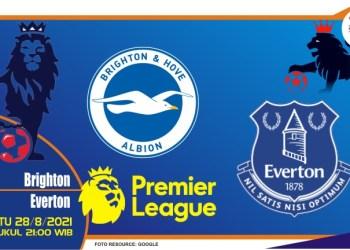 Prediksi Brighton vs Everton - Liga Inggris 28 Agustus 2021