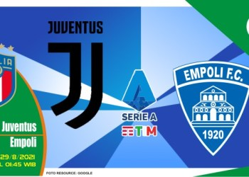Prediksi Juventus vs Empoli - Liga Italia 29 Agustus 2021