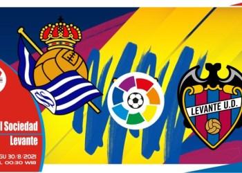 Prediksi Real Sociedad vs Levante - Liga Spanyol 29 Agustus 2021