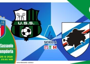Prediksi Sassuolo vs Sampdoria - Liga Italia 29 Agustus 2021