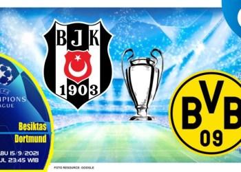 Prediksi Besiktas vs Dortmund - Liga Champions 15 September 2021