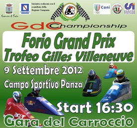 2012 Locandina Forio Grand Prix