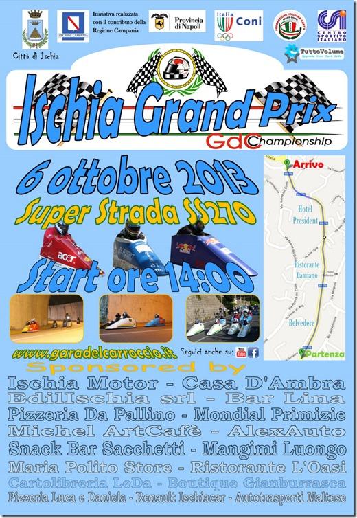 2013 Locandina Ischia Grand Prix