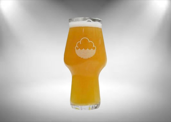 Cloudwater Craft Master Beer Glass (White Logo)