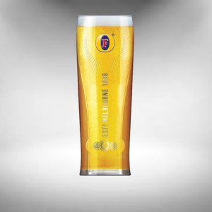 Fosters Beer Glass