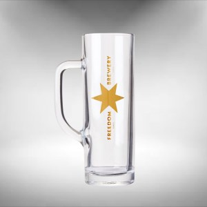 Freedom Brewery Tankard Beer Glass