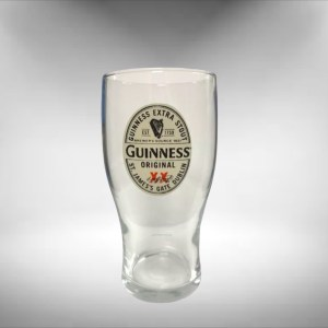 Guinness Extra Stout Beer Glass