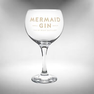 Mermaid Gin Ballon Glass