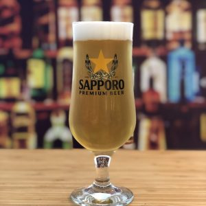 Sapporo Chalice Beer Glass
