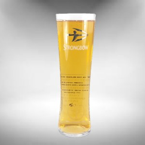 Strongbow Cider Glass