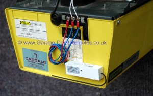 Remote control system upgrade kit for Stanley garage door operators
