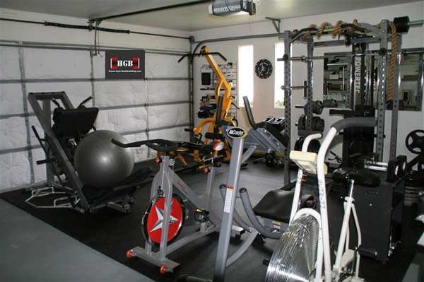 compact garage gym ideas - Garage Gym s Inspirations & Ideas Gallery page 1