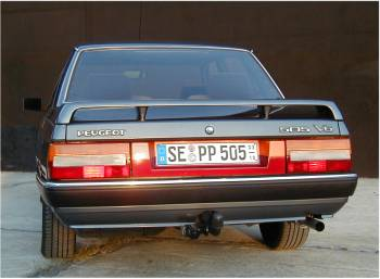 Peugeot 505 V6 1989 The King Of The Lions