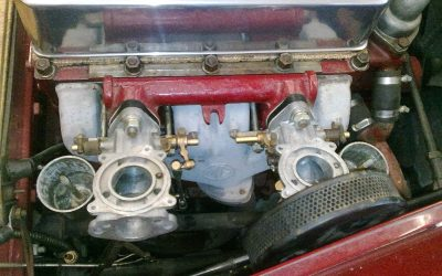 1954 MG TF 1500 Carburettor Rebuild