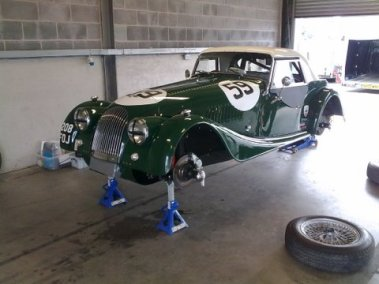 Morgan Plus 4 Supersports Donnington