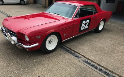 The ex-Alan Mann Racing, Tour de France 1964 FORD MUSTANG COMPETITION COUPÉ